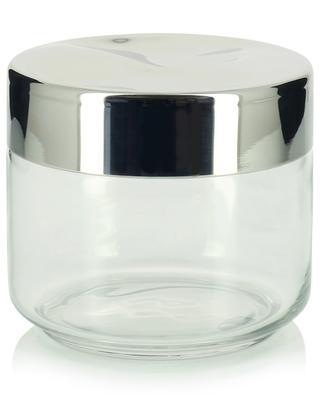 Küchendose aus Glas und Stahl Julieta - H9.3 ALESSI