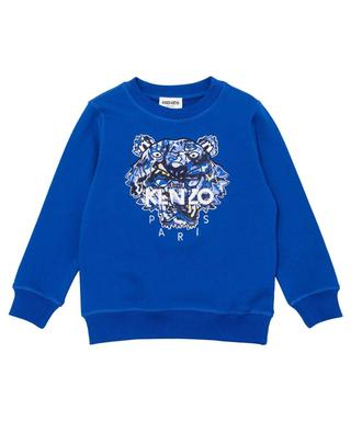 Bedrucktes Jungen-Sweatshirt Camo Tiger KENZO