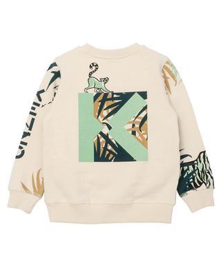 Bedrucktes Jungen-Sweatshirt Multi Icons KENZO