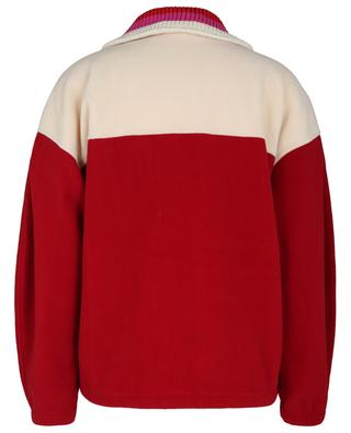 Maltih fleece jacket with knit collar ISABEL MARANT