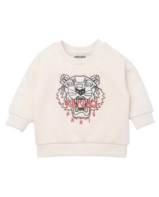 Sweat-shirt bébé imprimé Tiger KENZO