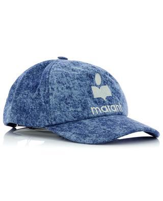 Tryonh logo denim baseball cap ISABEL MARANT