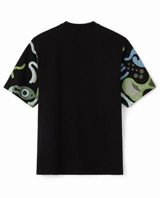 T-shirt à manches courtes en jersey imprimé K-Tiger WWF Capsule KENZO