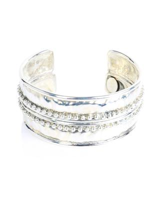 B0188 silver cuff bracelet POGGI