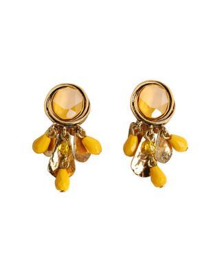 Clips d'oreilles avec anneaux et cristaux FAST39 POGGI