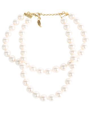 Collier de perles deux rangées BUI256 POGGI