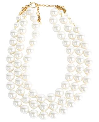 Collier de perles trois rangées AMO271 POGGI