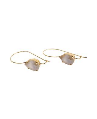 Pendants d'oreilles dorés avec cristaux MOB4 POGGI