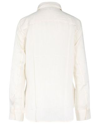 Long-sleeved viscose and silk blouse TOTÊME