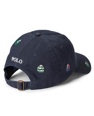 Baseballkappe aus Baumwoll-Twill mit Stickereien Polo Icons POLO RALPH LAUREN