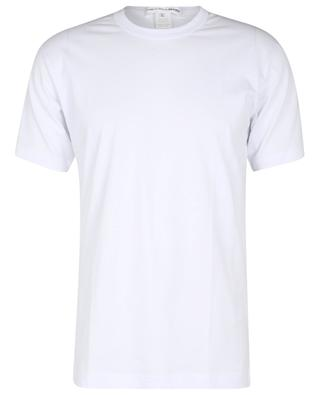 Kurzarm-T-Shirt mit Logoprint im Nacken COMME DES GARCONS SHIRT