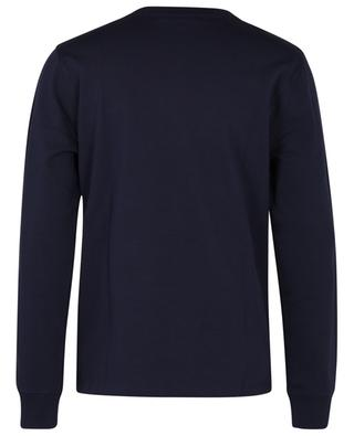 Sweat-shirt à col rond en coton bio Ami de Coeur AMI
