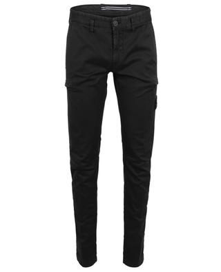Compass slim fit cotton cargo trousers STONE ISLAND