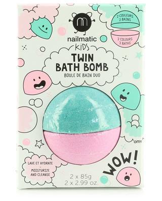 Badekugeln im Duo für Kinder Twin Bath Bomb NAILMATIC