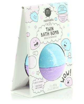 Boule de bain duo enfant Twin Bath Bomb NAILMATIC