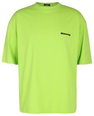 Kurzarm-T-Shirt mit Logostickerei BB Corp Vintage Jersey BALENCIAGA