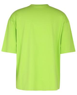 T-shirt à manches courtes brodé logo BB Corp Vintage Jersey BALENCIAGA