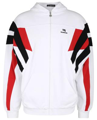 Sporty B Tracksuit Hoodie cotton sweatshirt BALENCIAGA