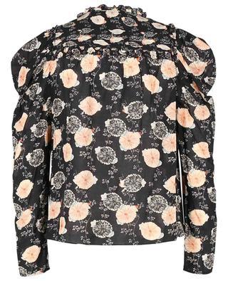 Zart transparente Bluse mit Blütenprint Bevin ULLA JOHNSON