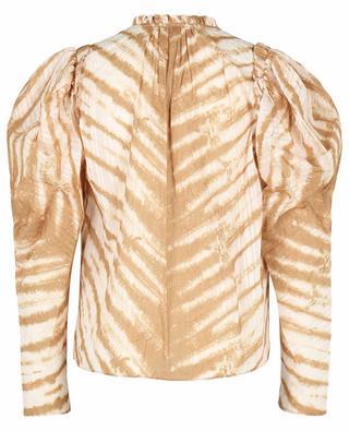 Bluse mit Tiger-Tie-Dye-Print Madena ULLA JOHNSON