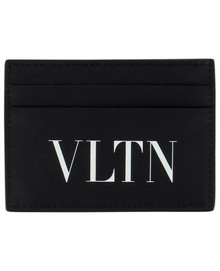 Kompaktes Kartenetui aus Glattleder VLTN VALENTINO