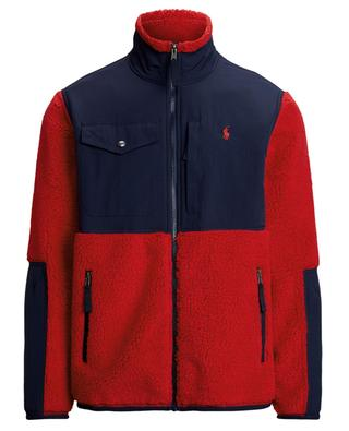 Colour-Blocked fleece and nylon jacket POLO RALPH LAUREN