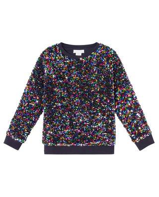 Colourful sequin sweatshirt for girls STELLA MCCARTNEY KIDS