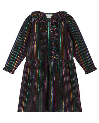 Multicolour Lurex Dress for girls STELLA MCCARTNEY KIDS