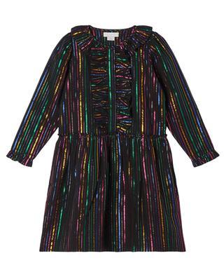 Mädchen Mehrfarbiges Lurex-Kleid STELLA MCCARTNEY KIDS
