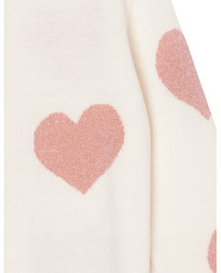 Cardigan with hearts for girls STELLA MCCARTNEY KIDS