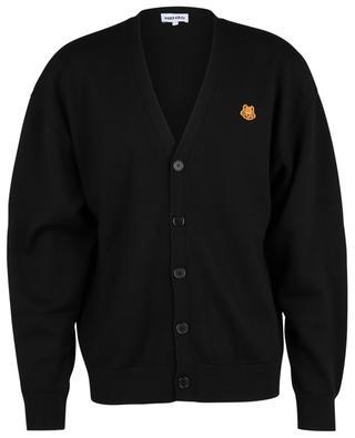 Tiger Crest V-neck cardigan KENZO
