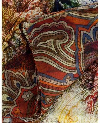 Materialmix-Schal mit Print Queen Angel MALA ALISHA