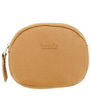 Grained leather purse Portemonnaie BERTHILLE MAISON FRANCAISE
