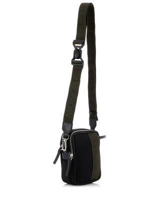 Detour nylon and leather cross body bag MONCLER