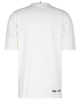 Kurzarm-T-Shirt mit Logoprint Après-Ski MONCLER GRENOBLE