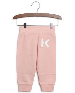 K Kenzo printed baby track trousers KENZO