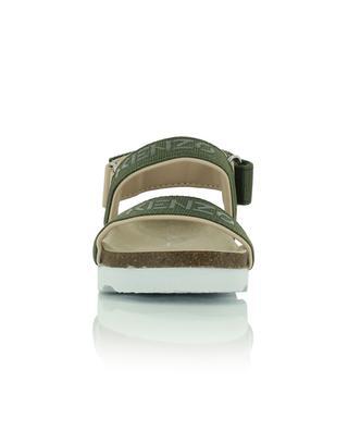 Sandales enfant en tissu avec logo KENZO