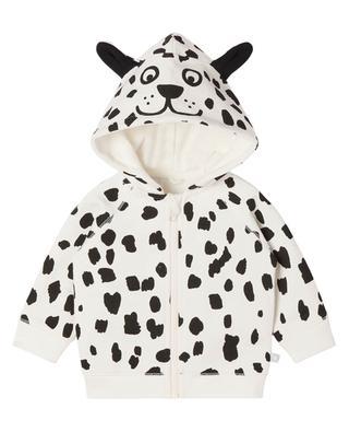 Sweat-shirt à capuche oreilles Dalmatien garçon STELLA MCCARTNEY KIDS