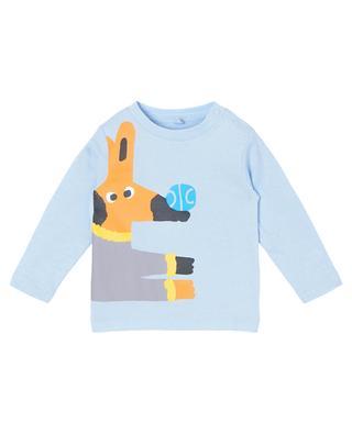 Langarm Hunde-T-Shirt für Jungen STELLA MCCARTNEY KIDS