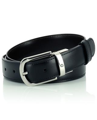 Reversible belt in black and brown smooth leather MONTBLANC
