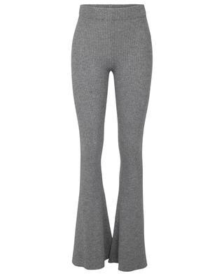 Pantalon évasé en maille Sierra Fancy Grey ALANUI