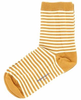 Striped cotton socks ORGANIC BASICS