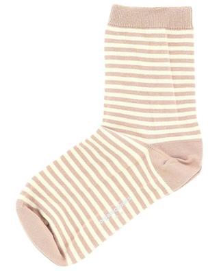 Chaussettes coton bio rayées ORGANIC BASICS