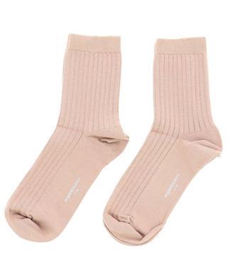 Ribbed cotton socks ORGANIC BASICS