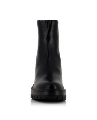 Saint Honore Combat nappa leather ankle boots AQUAZZURA