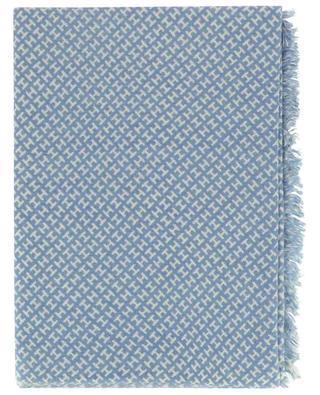 Feiner Monogramm-Schal aus Kaschmir Bade HEMISPHERE
