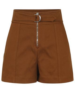 Cargo-Shorts aus Baumwollgabardine CHLOE