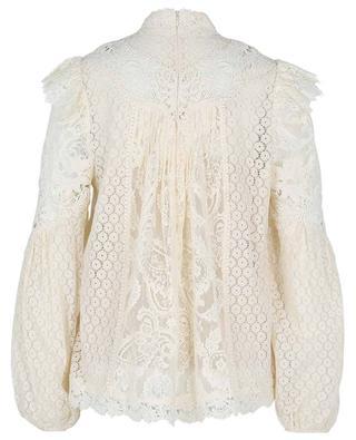 Concert floral lace blouse ZIMMERMANN