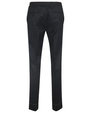 Sidney wool trousers with elasticized waist BRIONI
