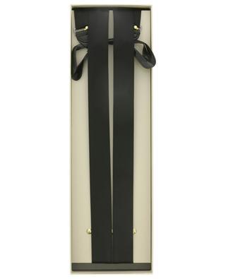 Satin and leather tuxedo braces BRIONI